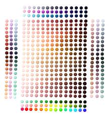 vibrant cell shading swatch pallete by nixieseal on deviantart