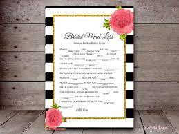 bridal mad libs bridal mad libs printabell create