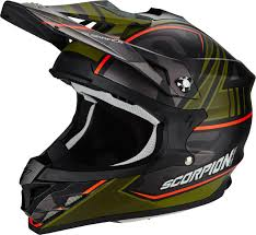 green motocross helmet scorpion vx 15 air miramar cross helmet motorcycle motocross