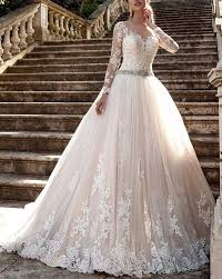 bridal gowns cardol 2017 women s lace wedding dresses bridal gowns sleeves