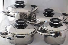 batterie de cuisine amc casseroles et poêles amc en acier pour la maison ebay