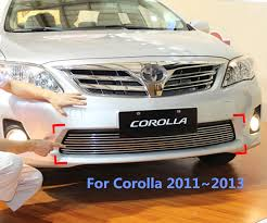 2011 toyota corolla accessories for toyota corolla 2011 2012 2013 racing grills front grille