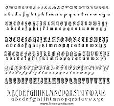 tribal lettering styles 1