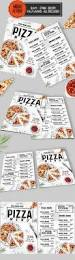 food menu food design restaurants and table tents