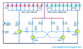 how are led christmas lights wired led christmas lights circuit diagram and working readingrat net
