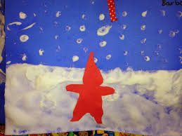 the snowy day an art project ezra jack keats kindergarten and