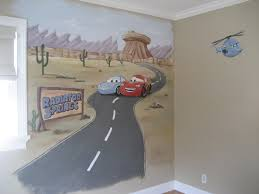 Cartoon Wall Painting In Bedroom Endearing How To Paint A Wall Mural In A Bedroom With Painted Wall