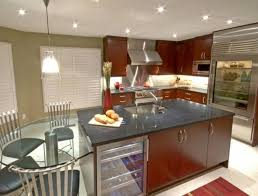 Stainless Steel Kitchen Island With Seating Stainless Steel Kitchen Island Work Table With Cabinet Doors And