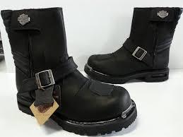 harley davidson motorcycle boots nib mens harley davidson travis d96044 black leather motorcycle
