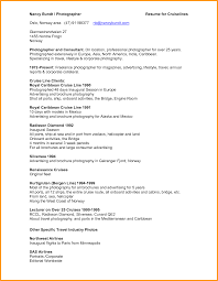 Photographers Resume Sample by Photography Resume Examples Free Resume Example And Writing Download