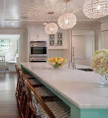 lovable crystal pendant lights for kitchen island 25 best ideas