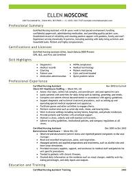 cna resume template sle of cna resume sle cna resume 13 create my yralaska