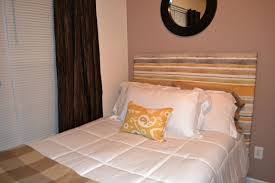 unique brown wood diy headboard decor with cone simple white wall diy headboard ideas curtains tagged with bedroom and ideas