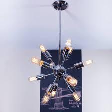 sputnik chandelier an iconic design for more than 50 years http www amazon com 12 light chrome sputnik hanging pendant dp