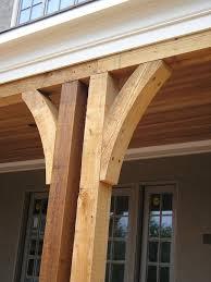 cedar bracket rough sawn for the home pinterest porch
