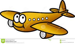 aereo clipart aereo divertente illustrazione vettoriale illustrazione di