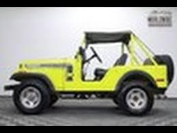 1974 jeep renegade 1974 jeep cj5 renegade 304 v8 44 original