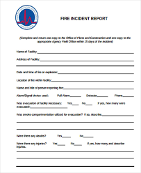 incident report register template construction incident report template 15 free word pdf format