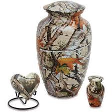 creamation urns urnsdirect2u camo cremation urn set walmart