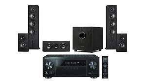 pioneer home theater systems pioneer vsx 831 b stock 5 2 channel av receiver w pioneer s hsaj2