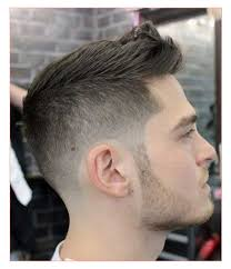 mens haircut receding hairline as well as mens ponytail hairstyle
