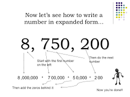 numbers in expanded form created by teachers unleashed ppt