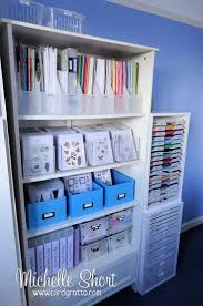 Craft Rooms Pinterest by Storage Ideas Scrapbooking Craft Rooms Creative Scrapbooker