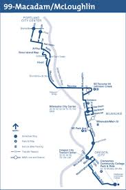 Max Portland Map by Trimet Bus Service Returns To Sellwood Bridge In December After 12