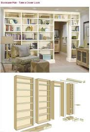 Bookshelves Wood Plans by 94 Best Woodworking Indoor Furniture Plans Images On Pinterest