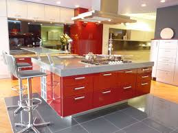 Kitchen Island Red Kitchen Beautiful European Country Kitchen Decor With Red Gloss