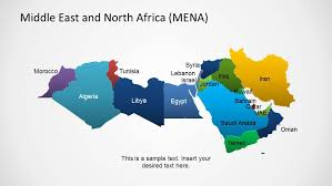 middle east map ppt middle east africa map template for powerpoint slidemodel