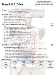 athletic resume template sports resume template 47 images student athlete resume