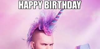 Unicorn Birthday Meme - happy birthday wishes quotes
