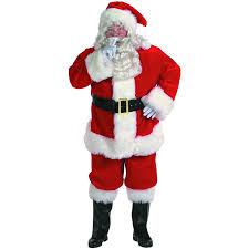 santa suit halco holidays men s professional santa claus suit