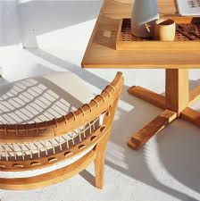 favorite furniture sustainable teak from an italian designer