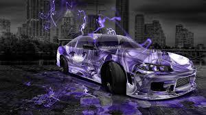 custom nissan 180sx nissan silvia 240sx facelift s15 jdm anime city car 2014 el tony