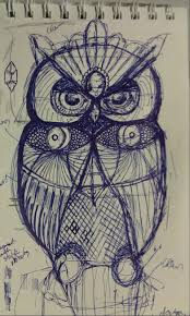 owl sketches the manic sketcher