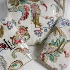 Ralph Lauren Antigua King Comforter Ralph Lauren Antigua 3pc Full Queen Duvet Cover Sham Set Floral