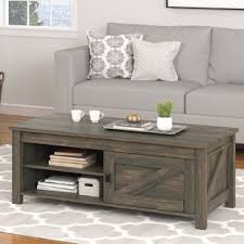 Rustic Living Room Table Sets Farmhouse Rustic Coffee Tables Birch