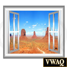 southwest mountain view scene wall decal peel and stick 3d home peel and stick wall decals 3d window frames southwest mountain view scene wall decal peel and stick 3d wallscape window frame sticker peel and