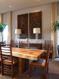 dining table outside dining room contemporary with wall decor wood