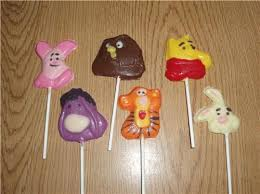 lollipop party favors winnie the pooh and chocolate lollipops party favors