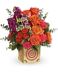 birthday boquet teleflora s birthday sparkle bouquet teleflora
