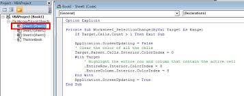 excel 2010 macro to highlight row of active cell stack overflow