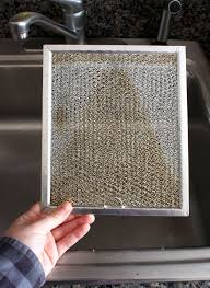 Kitchen Cabinet Cleaning Tips How To Clean A Greasy Range Hood Filter U2014 Cleaning Lessons From