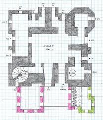 Medieval Floor Plans Early Castles