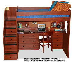 full size utica dorm loft bed 23 905 bedroom furniture full