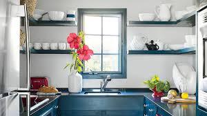 Dark Blue Kitchen Using Color In The Kitchen Coastal Living