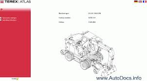 100 atlas copco parts manual atlas terex spare parts