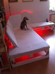 bed frame with lights wood pallet bed frame with lights 54 with wood pallet bed frame with